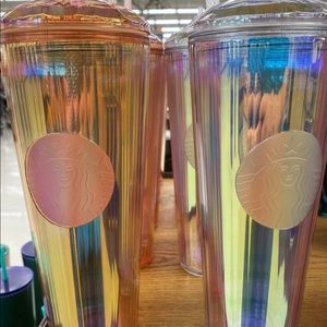 2020 Starbucks Dome Kaleidoscope Cups. One of each